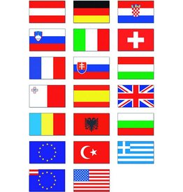 Nationalflagge 30 x 20 cm