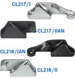 Clamcleat Klemme mit seitlicher Öffnung (bis 6 mm)