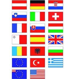 Nationalflagge 45 x 30 cm Österreich