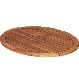 EUDE Teak-Tischplatte 60x80cm