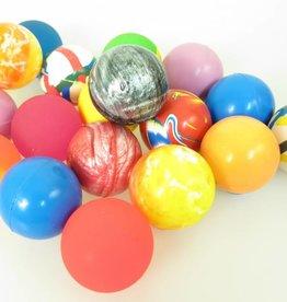 XL Balles rebondissantes 60mm par 6 pcs