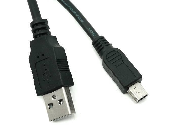 Mini USB Kabel 30cm