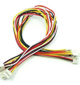 Universele 4 pins Buckled kabel 30cm (5st.)