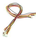 Universele 4 pins Buckled kabel 50cm (5st.)