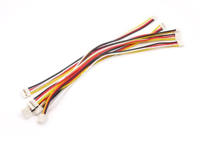 Universele 4 pins Buckled kabel 20cm (5st.)
