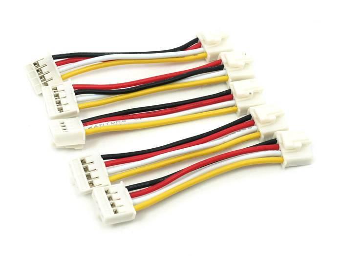 Universele 4pins Buckled Kabel 5cm (5st.)