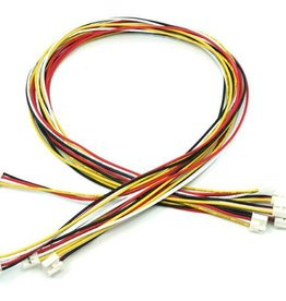 Universele 4 pins buckled 40cm kabel (5st.)