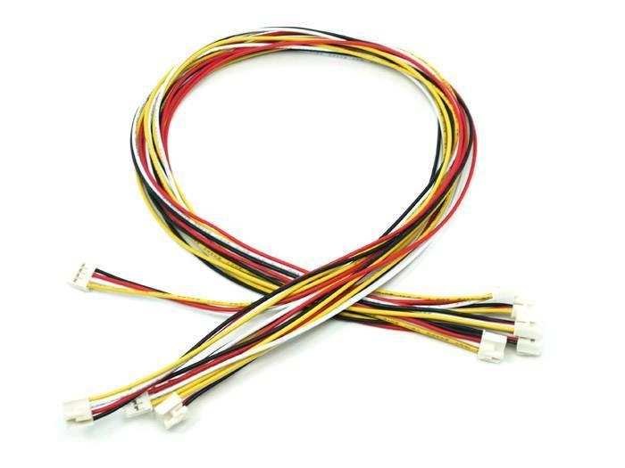 Universele 4 pins buckled 40cm kabel (5st.)