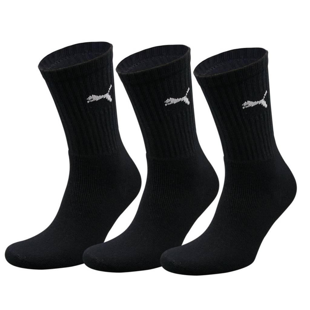 Puma sokken 3-pack Zwart