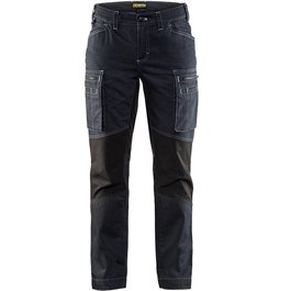 Dames stretch werkbroek Denim Blaklader