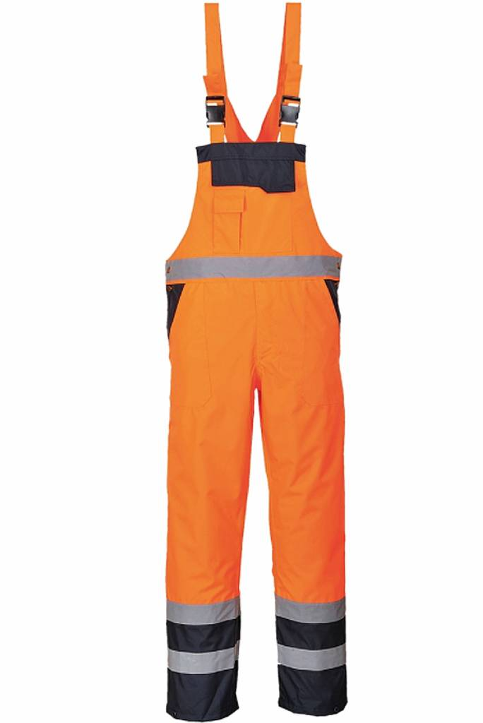 High-Visibility Amerikaanse overall oranje