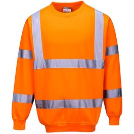 High-Visibility Sweater oranje