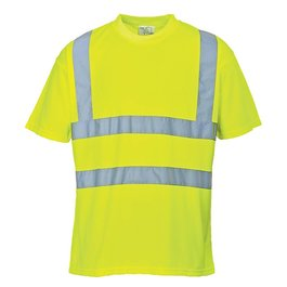 High vis t-shirt geel
