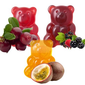 Große Fruchtsaft-Bären, 500 g