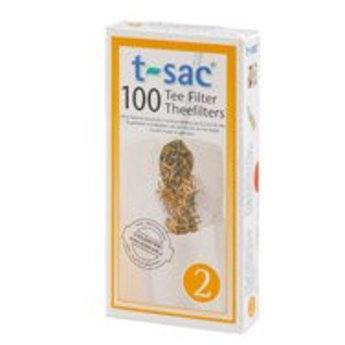 t-sac Papierfilter t-sac, Kannenfilter Gr. 2