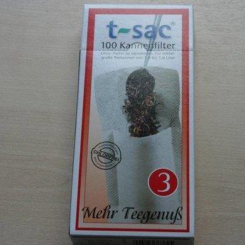 t-sac Papierfilter t-sac, Kannenfilter Gr. 3