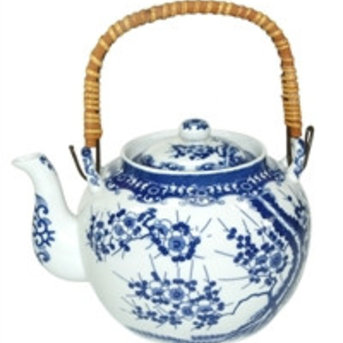 Teekanne Kirschblüte, 1,0 ltr.