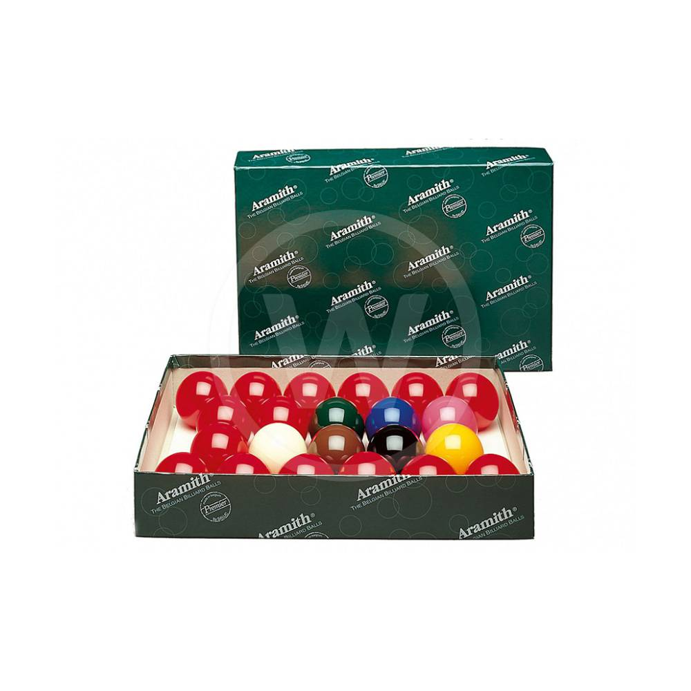 Aramith Aramith snooker ballen (57,2 mm)