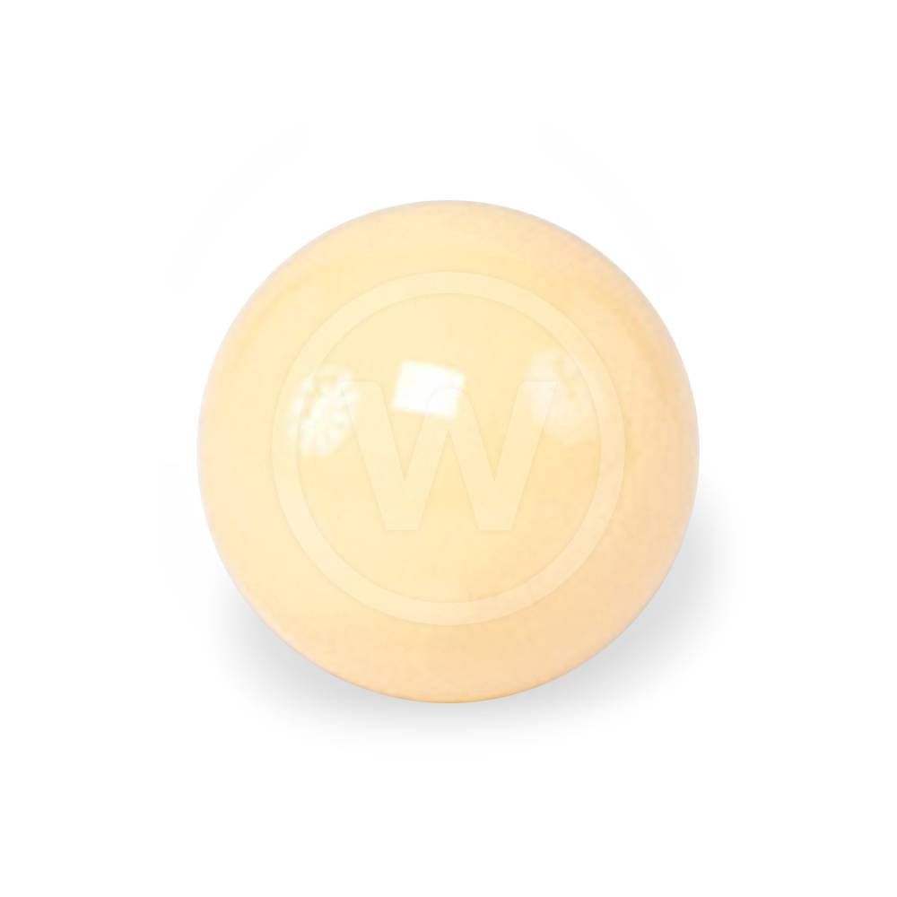 Bal wit (Maat: magneetbal wit - 57.2mm ECONOMY)
