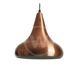 Lamp klassiek rood-koper (hoogglans)