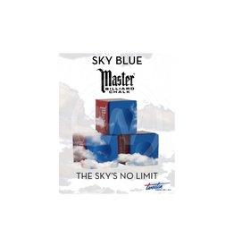 Master Sky/Tournament/Prestige doosje 12 krijtjes (Sky Blue)