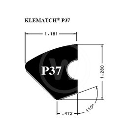 Rubberband Kleber Klematch P37 (2.85 meter)