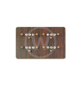 Standaard scorebord 4 spelers - groot