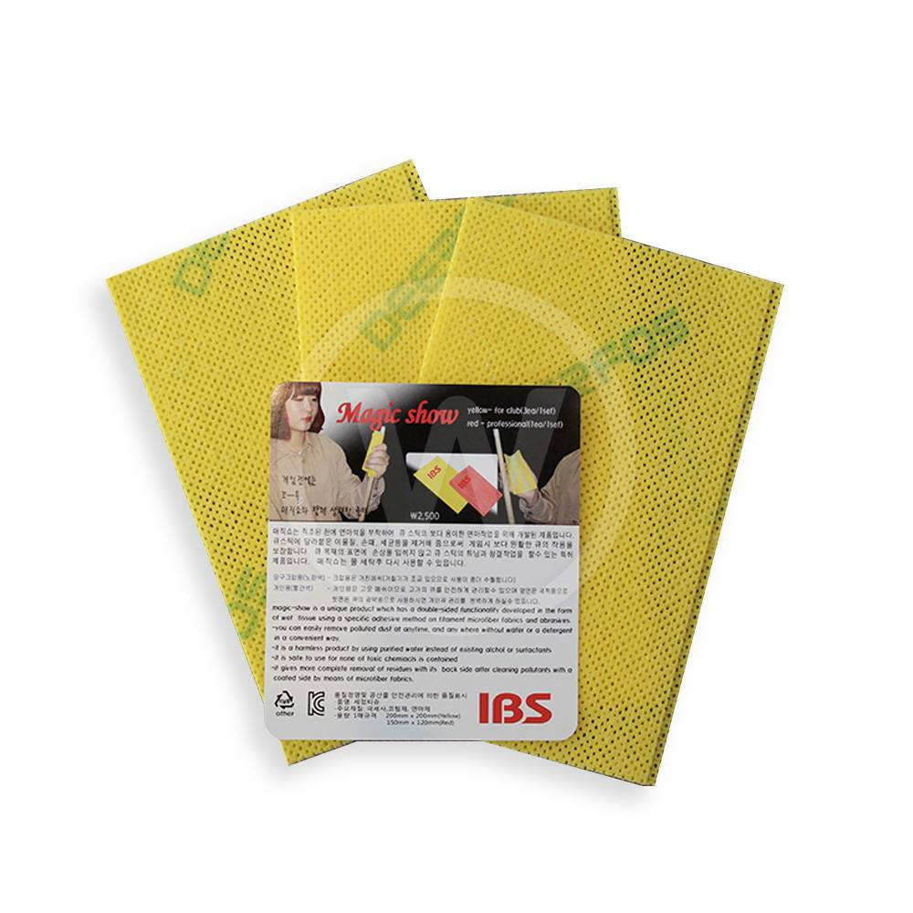 IBS IBS Magic Show cue shaft cleaner yellow