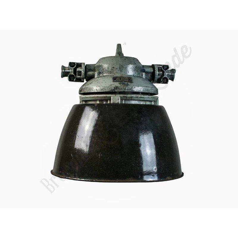 "Originele industriële fabriekslamp ""Duvel bol"""