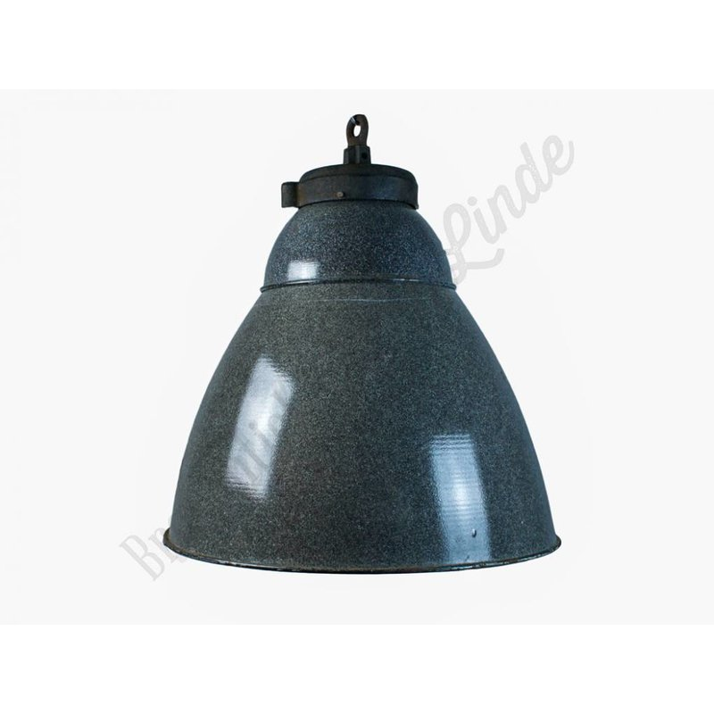 "Industriële emaille fabriekslamp ""Smichov"""