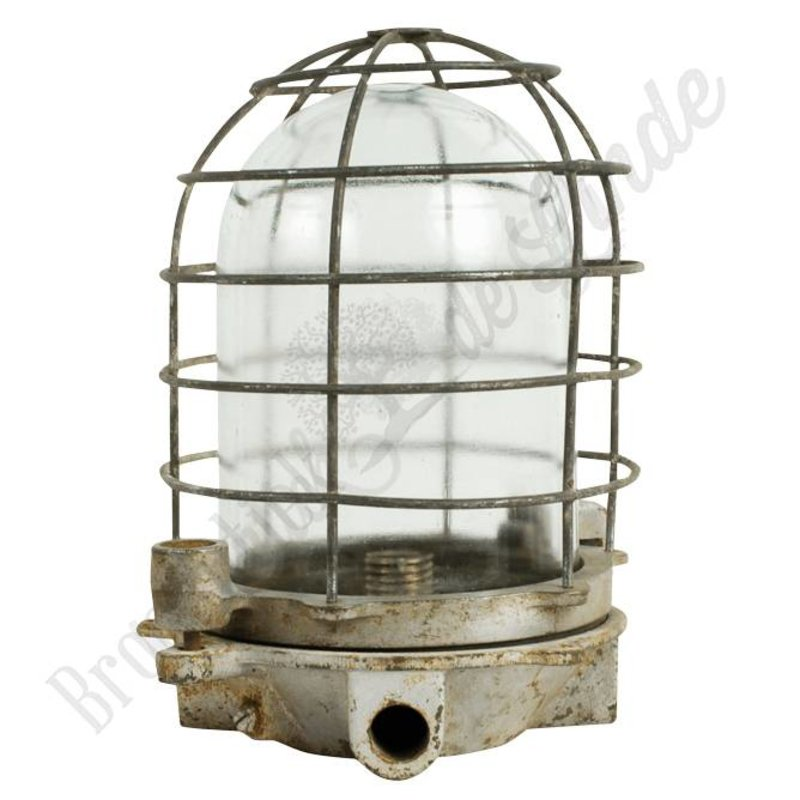 "Oude fabriekslamp ""Zatec"""