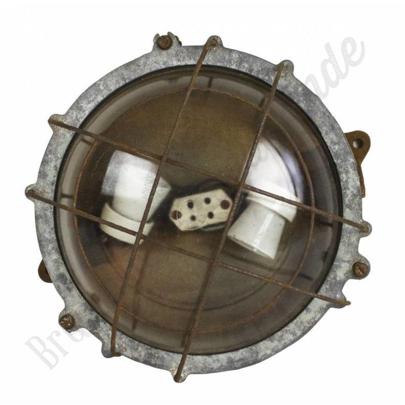 "Industriële wandlamp ""Caged Turtle"""