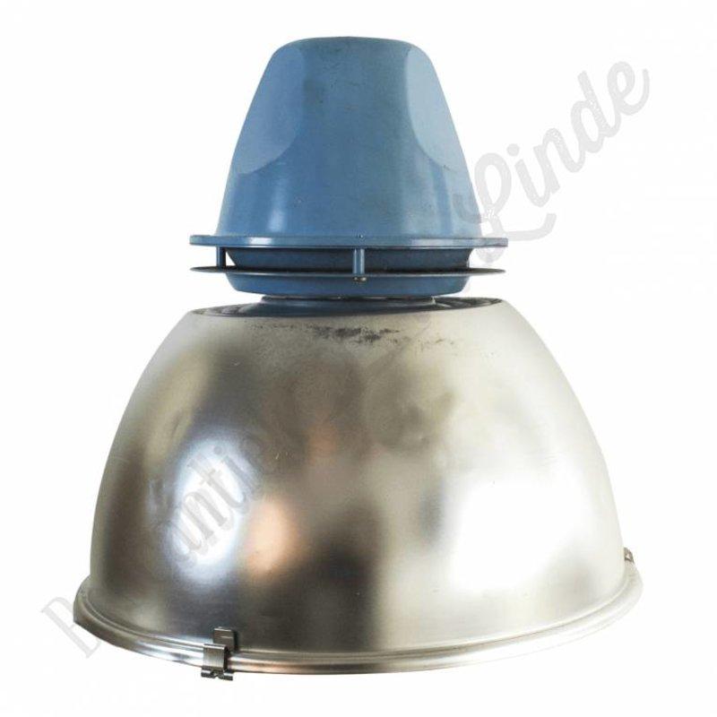 """Industriële lamp/oude fabriekslamp """"Blue Alu"""""""
