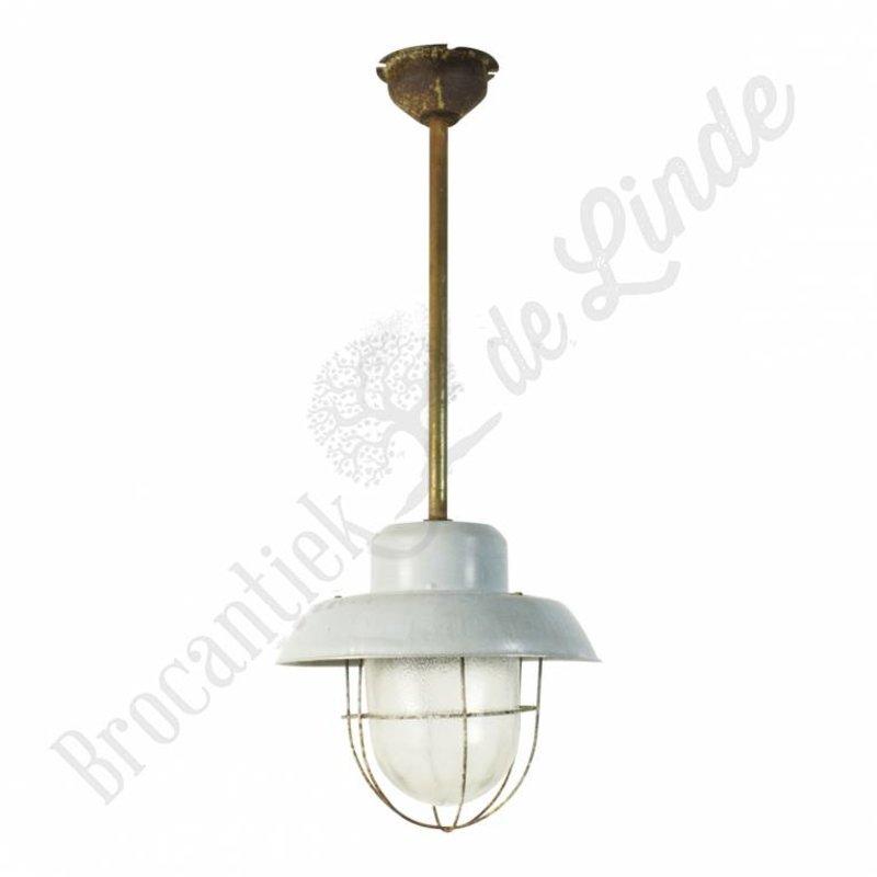 "Industriële lamp ""Extended Baby Grey"" op staaf"