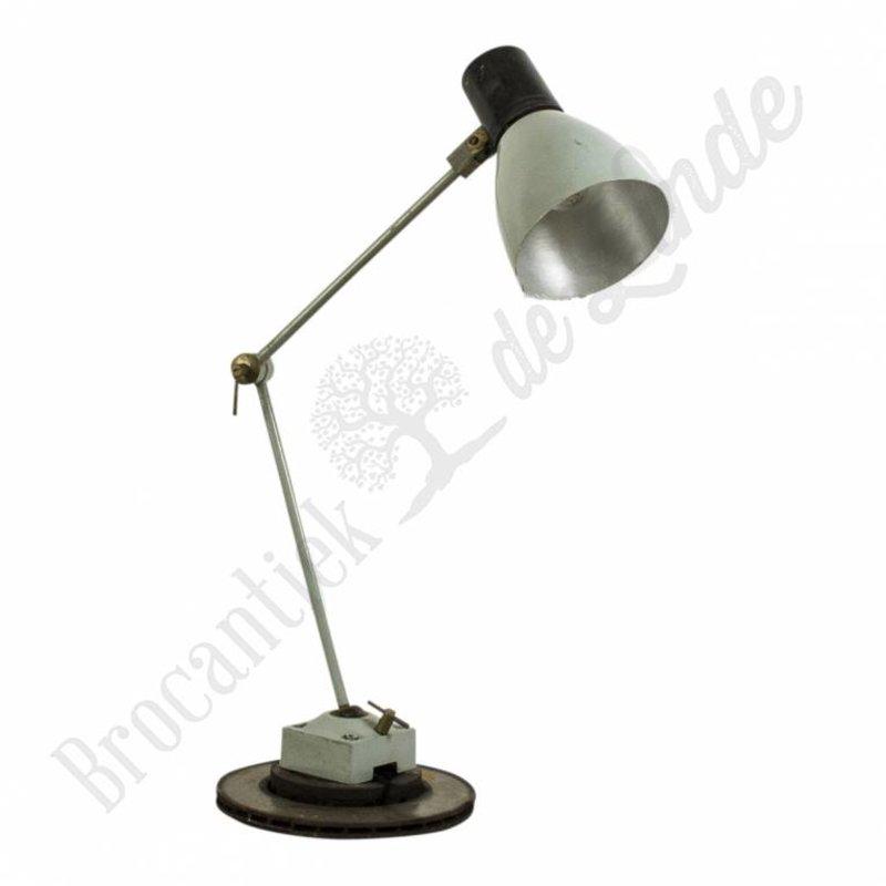 """Industriële monteurslamp op remschijf """"Silver python"""""""