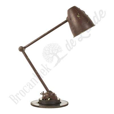"Monteurslamp ""Brown Python"""