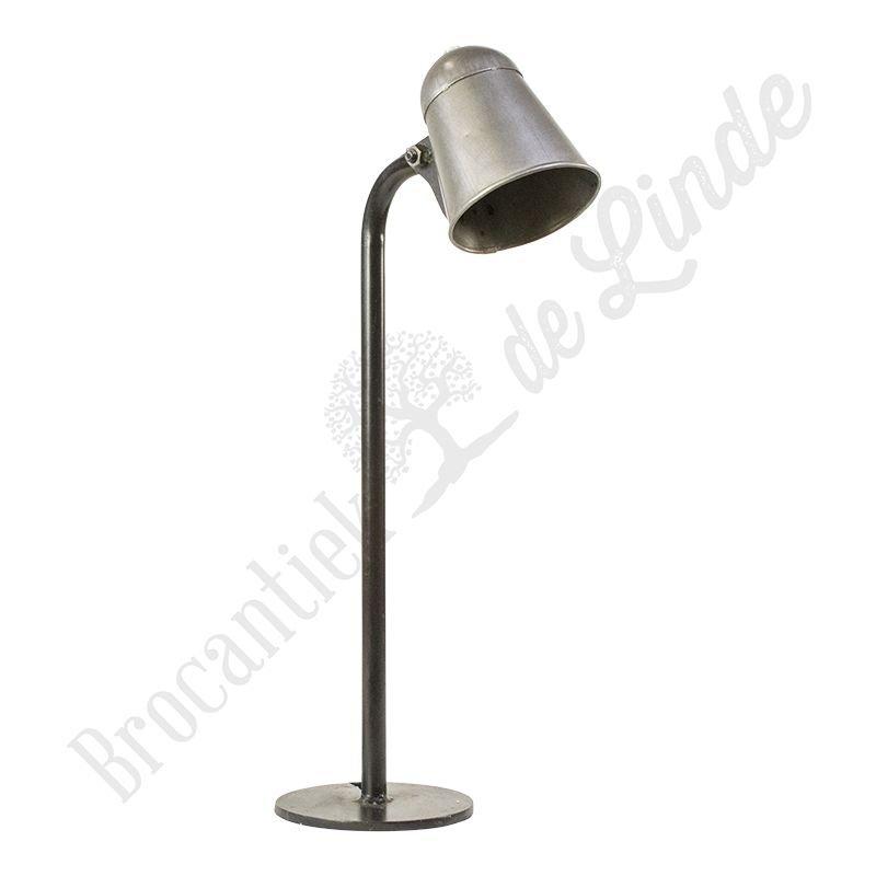 Industri le bureaulamp industry bij brocantiek de linde for Industriele bureaulamp