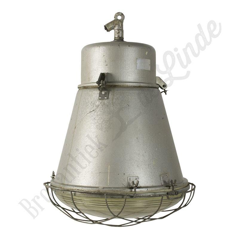 "Stoere industriële fabriekslamp ""Tonnetje"""