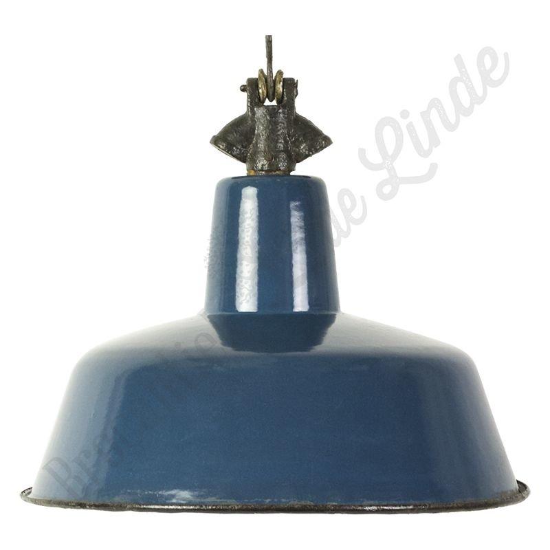 """Vintage Bauhaus lamp """"Blue Swan"""""""
