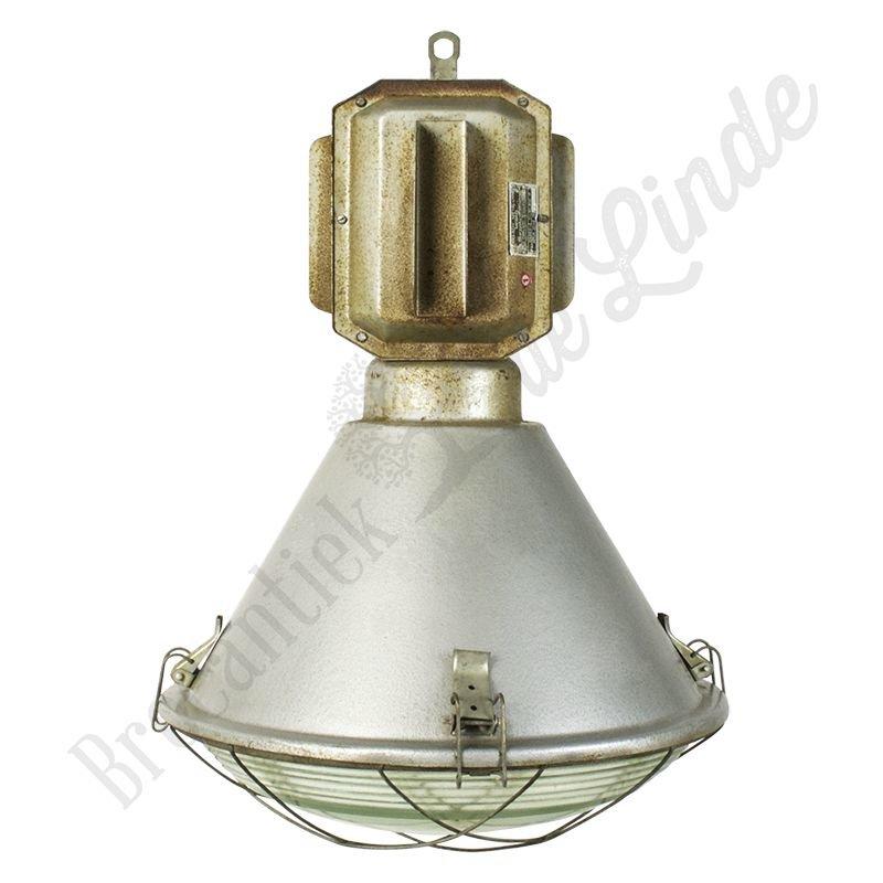 """Oude fabriekslamp """"Janek Torpedo"""""""