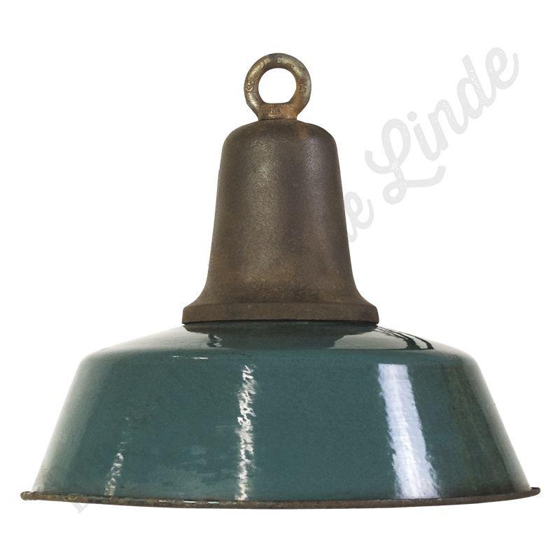"Vintage Bauhaus hanglamp ""Ocean Cast Iron"""