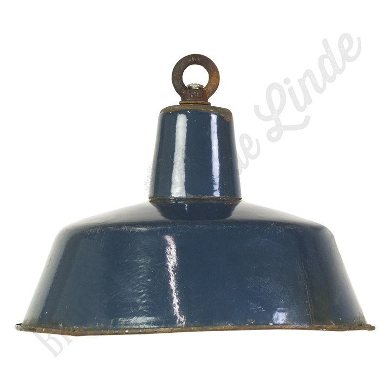 "Vintage Bauhaus lamp ""Blue No.4"""