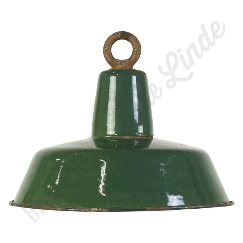"Vintage Bauhaus lamp ""Green No.3"" - medium"