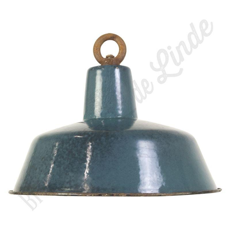 """Vintage Bauhaus lamp """"Blue No.1"""" - medium"""