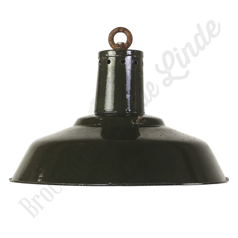 "Originele Bauhaus fabriekslamp ""CCCP Brown"""
