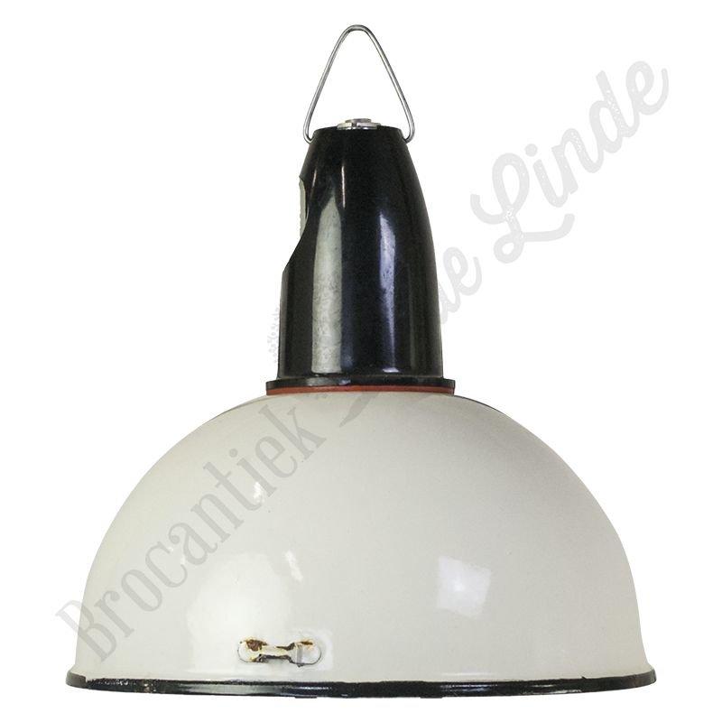 """Vintage Bauhaus lamp """"CCCP White"""""""