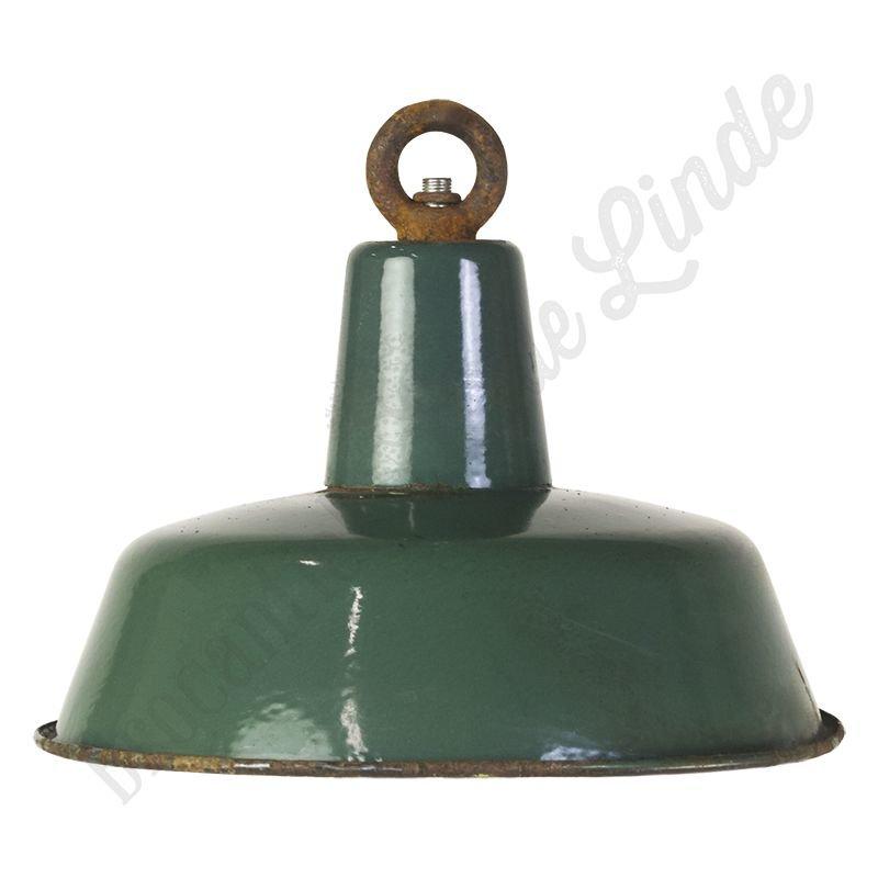 """Vintage Bauhaus lamp """"Green No.2"""" - medium"""