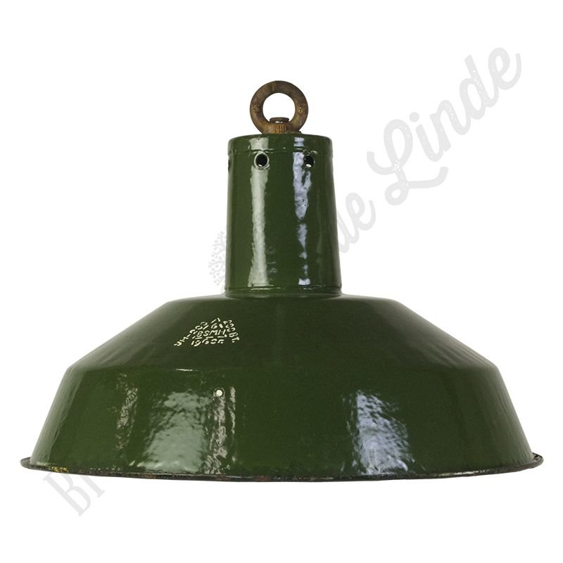 "Industriële Bauhaus lamp ""CCCP Forest Green"""