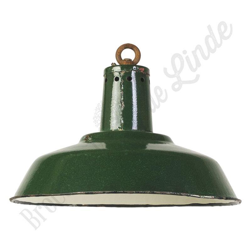 """Industriële Bauhaus lamp """"CCCP Dark Green"""""""