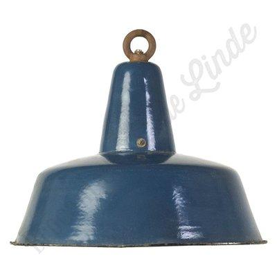 """Bauhaus lamp """"Petrol"""" - emaille"""